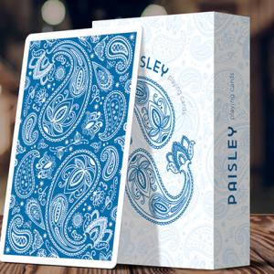 Limited Edition Paisley (French Blue) Playing Cards