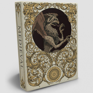 Medieval Gold Edition by Elephant Playing Cards