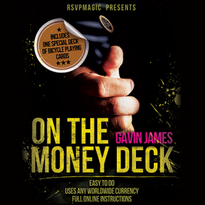 On the Money (Gimmick and Online Instructions) by Gavin James - Trick