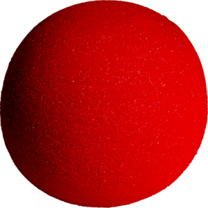5 inch Super Soft Sponge Ball (Red) from Magic by Gosh (1 each)