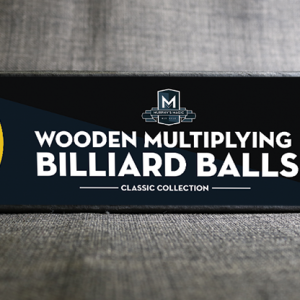 "Wooden Billiard Balls (2"" Yellow) by Classic Collections - Trick"