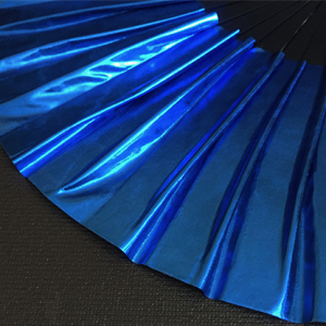 Appearing SnowStorming Fan V2 (Liquid Blue) by Victor Voitko (Gimmick and Online Instructions) - Trick