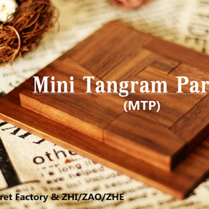 Mini Tangram Paradox (MTP) (Gimmicks and Online Instruction) by Secret Factory