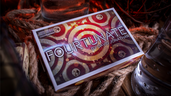 Fourtunate (Gimmicks and Online Instructions) by David Jonathan and Mark Mason - Trick