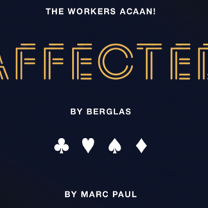 Affected by Berglas (Gimmick and online instructions) by Marc Paul & Kaymar Magic - Trick