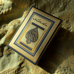 ARABESQUE Playing Cards - Player's Edition (Blue) by Lotrek