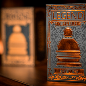LEGEND Cups and Balls (Copper/Aged) by Murphy's Magic  - Trick