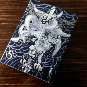 Sumi Kitsune Myth Maker (Blue) Playing Cards by Card Experiment