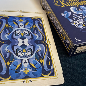 5th Kingdom Semi-Transformation (Player Edition Gilded Blue 2 Way) Playing Cards