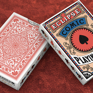 Eclipse Comic (Red) Vintage Transformation Playing Cards