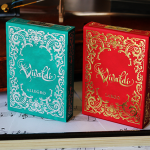 Vivaldi Allegro Playing Cards