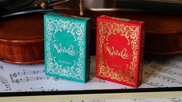 Vivaldi Allegro Playing Cards