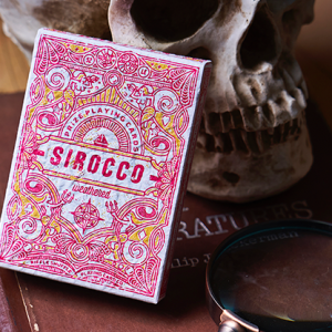 Sirocco Weathered (Numbered Seal)  Playing Cards by Riffle Shuffle