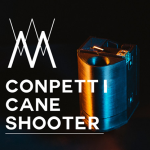 Confetti Cane Shooter (Wireless Remote) by Magician JiK - Trick