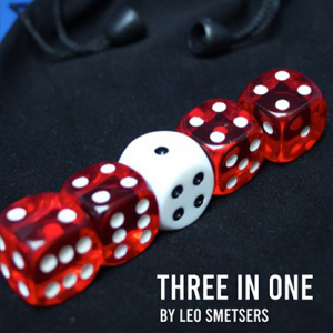 3 in 1 (Gimmicks and Online Instructions) by Leo Smetsers - Trick