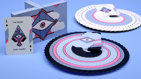 The Seers Aspectu V2: Early Sunset  Playing Cards
