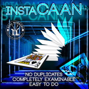 instaCAAN BLUE (Gimmicks and Online Instruction) by Joel Dickenson - Trick